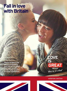 fall in love with great britain_gay marriage campaign