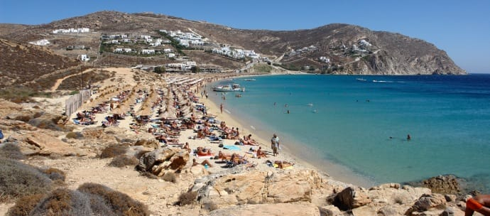 LGBT Travel tips_Mykonos - Elia Beach_World Rainbow Hotels