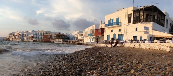 LGBT Travel tips_Mykonos - Little Venice_World Rainbow Hotels