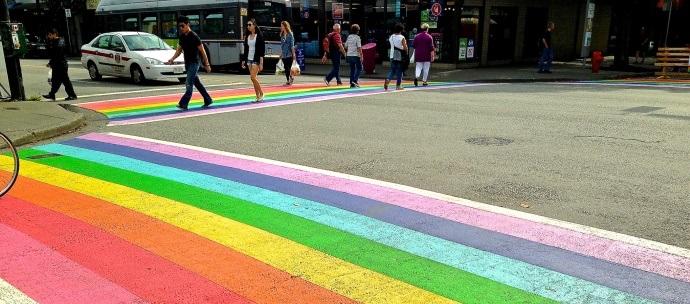 davie street crossing_gay scenes