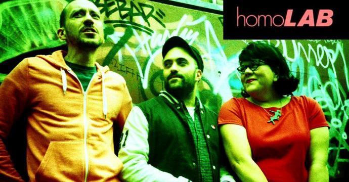 homolab podcast trio