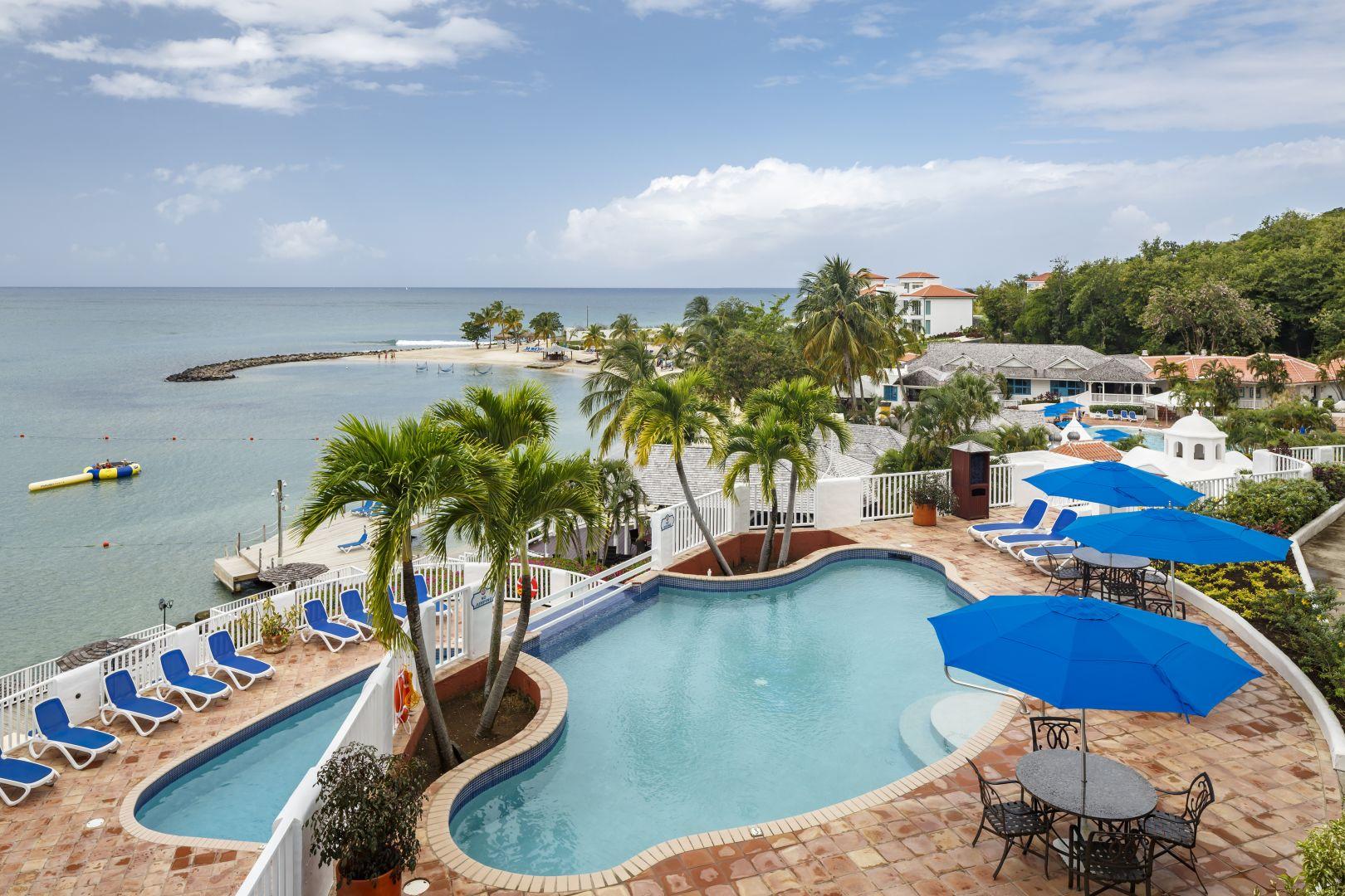 Windjammer Landing Villa Beach Resort is a gay and lesbian