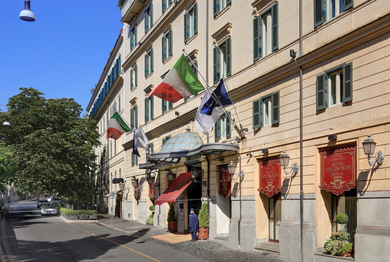Hotel Splendide Royal Is A Gay And Lesbian Friendly Hotel In Rome